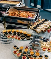 Buffet Catering Set Up - <Stamford Catering> Catering Photo from Stamford Catering