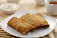 Signature Crispy Banana with Red Bean Paste Wafer - House of Dim Sum Catering Menu from House of Dim Sum
