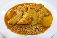 Homemade Curry Chicken Noodle from Homely Cooked Food