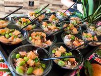 Canapés Buffet Catering Desert - Ninja Cut from Ninja Cut