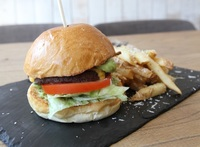 Signature Cheese Burger from Bread & Bistro