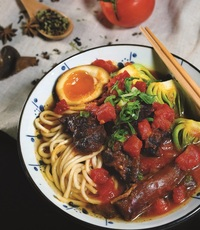 Tomato Taiwanese Beef Noodle from Check-In Taipei