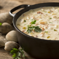 New England Clam Chowder from Seattle Pike Chowder