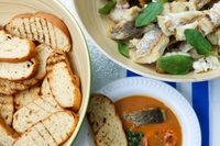 bread with fish stew - Saybons from Saybons
