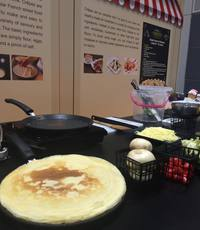 breakfast buffet live crepe station  - Saybons from Saybons