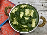 Palak Paneer from Indian Spices