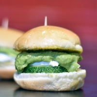 Avocado Cream Cheese with Dill Slider from Carvers X