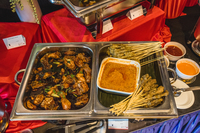 Home made Chicken and Mutton Satay- From Custom Asian Buffet Catering - Mum's Kitchen Catering from Mum's Kitchen Catering